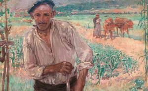 El Bellas Artes adquiere 'El aldeano de Bakio' de Guiard por 170.000 euros