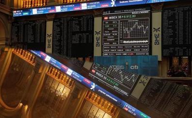 El Ibex-35 acaricia los 9.000 con la esperanza en un acuerdo comercial