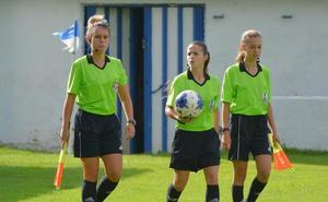Primer trío arbitral femenino en un partido de División de Honor masculina: un paso más a la «normalidad»