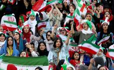 Irán permite 40 años después el acceso de las mujeres a un estadio de fútbol