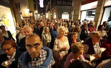 Procesión de las antorchas en Bilbao