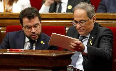 La Generalitat equipara el 'Todo por la patria' de la Guardia Civil con el 'Ahora España' del PSOE