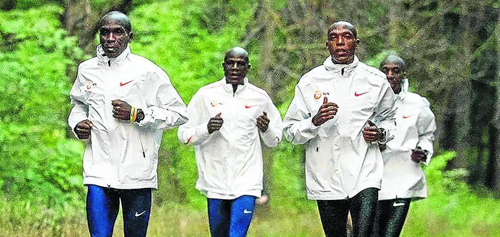Kipchoge afronta el sábado su intento para bajar de las dos horas en maratón