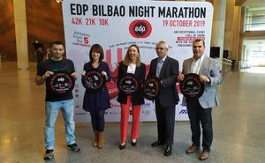 La maratón nocturna traerá a Bilbao a 13.400 atletas de más de 50 países
