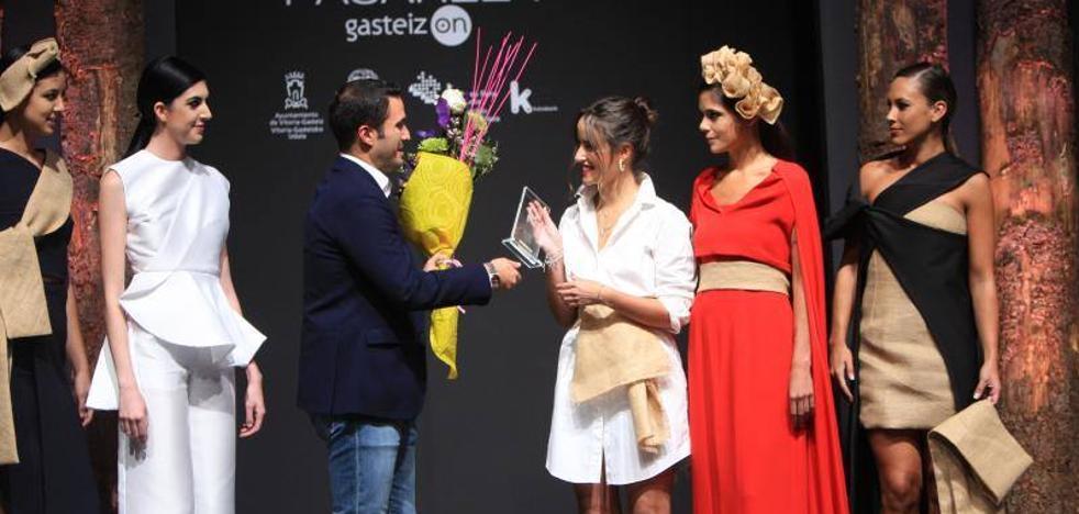 La vitoriana Rebeca Ruiz se hace con el premio a la Mejor Colección de la Pasarela Gasteiz On