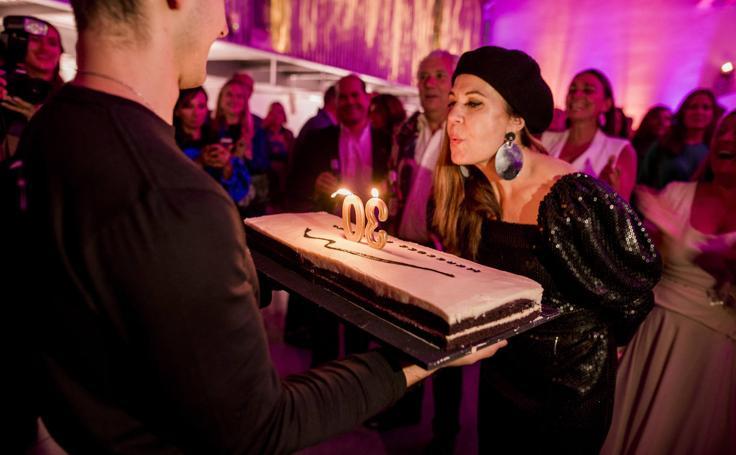 Desfile, DJ's y caras conocidas: así fue la fiesta de Mercedes de Miguel por su 30 aniversario en la moda