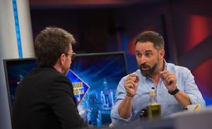 Santiago Abascal 'regala' a 'El Hormiguero' la tercera mejor audiencia de su historia