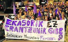 Denuncian «falta de seguridad» en las fiestas de Basauri tras la agresión sexual a dos chicas