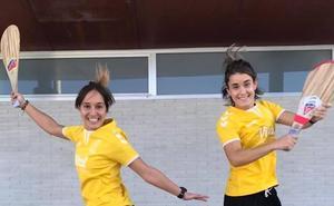 Las alavesas Ane Ibáñez y Nagore Martín jugarán la Copa del mundo de paleta argentina