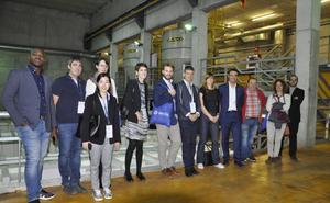 Expertos se fijan en Portugalete por su sistema de recogida neumática de residuos urbanos