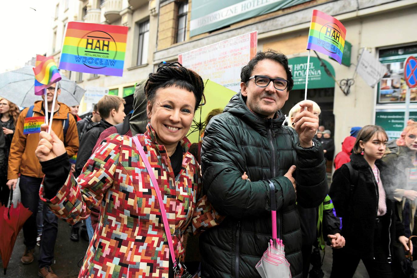 Olga Tokarczuk, entre el humor y las amenazas de la extrema derecha