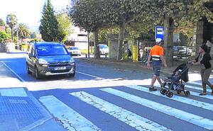 Denuncian la falta de seguridad vial en Berriatua por el paso de 7.000 vehículos
