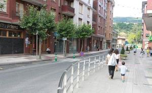 Etxebarri destina 321.000 euros a la semipeatonalización de Egetiaga Uribarri