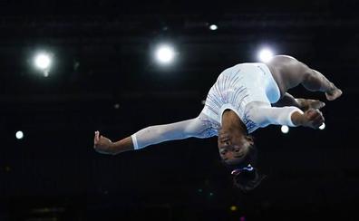 Simone Biles, la reina absoluta de la gimnasia artística