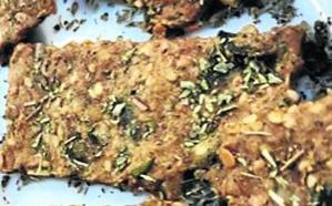 'Snack' salado de grillos de picoteo