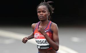 Brigid Kosgei toma el protagonismo del maratón femenino con un récord mundial