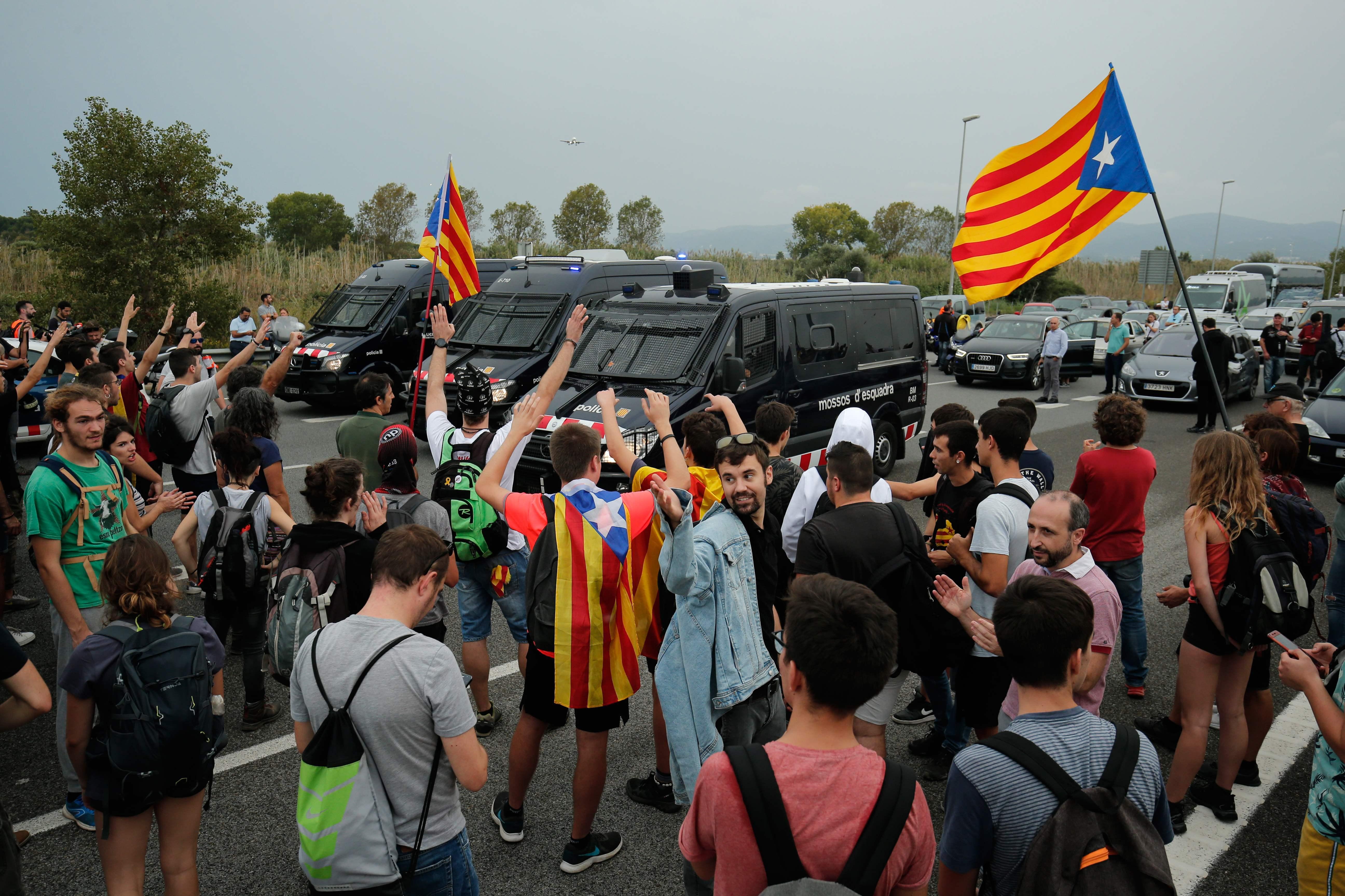 Colapso en el aeropuerto de Barcelona por la sentencia del 'procés'