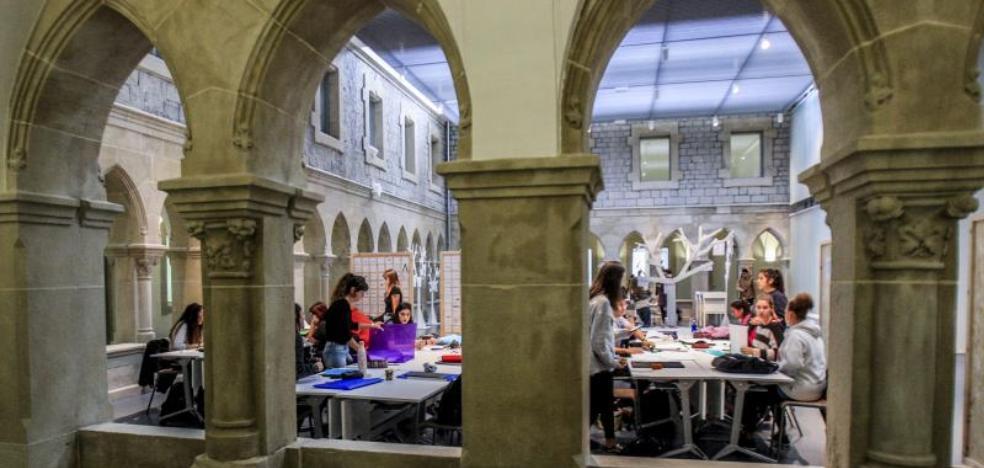 La educación artística da vida al convento de Betoño