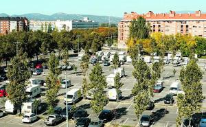 Vitoria estudia crear un nuevo parking para autocaravanas