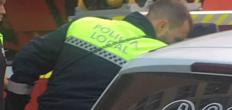 Dos detenidos por agredir a sus parejas en la calle en Vitoria