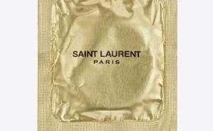 Un preservativo de lujo, Yves Saint Laurent apuesta por lo seguro