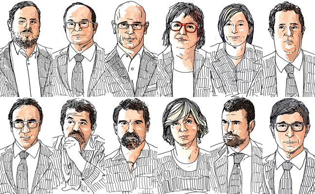 Sentencia del 'procés': los motivos por los que han sido condenados