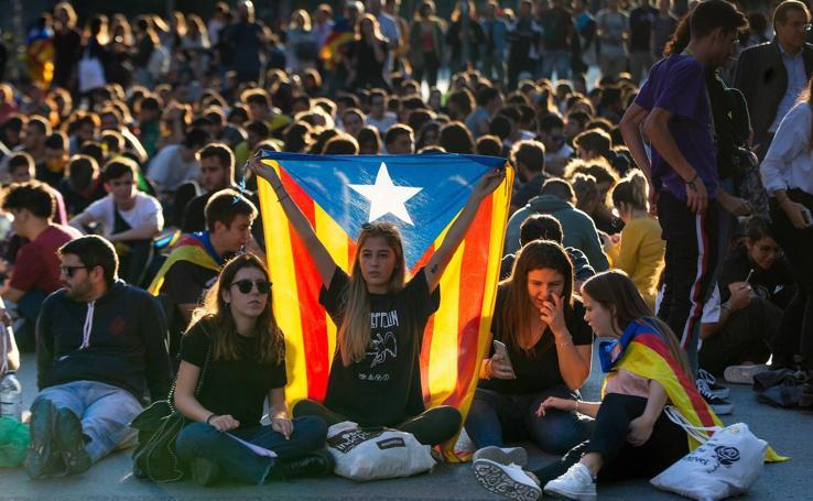 Cataluña reacciona a la sentencia del 'procés'