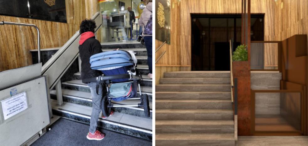 Interior reformará el acceso a la oficina del DNI en Vitoria ante las quejas por su accesibilidad
