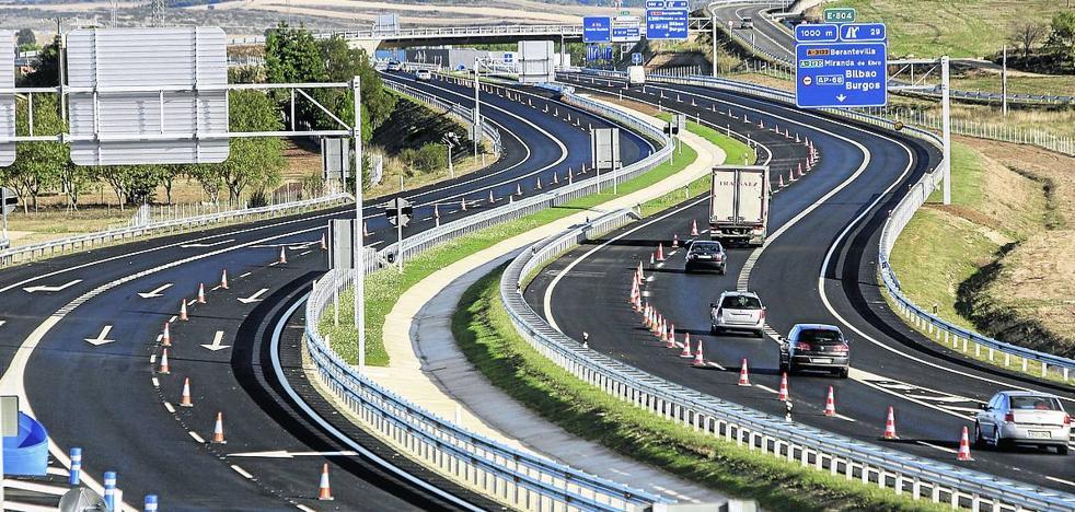Una 'autovía' segura rumbo a Rioja Alavesa