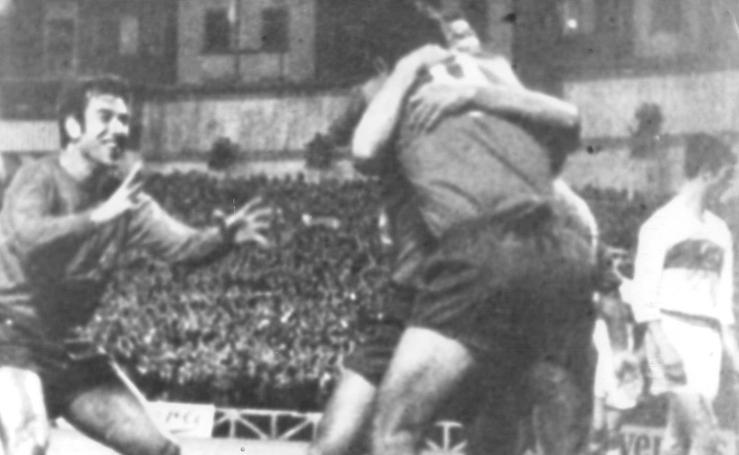 El 31 de mayo de 1967 España venció por 2-0 a Turquía en San Mamés