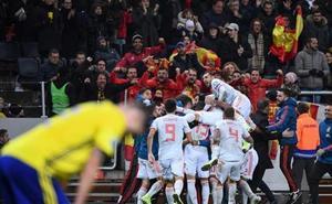 España se clasifica para la Eurocopa 2020 y jugará en Bilbao 53 años después