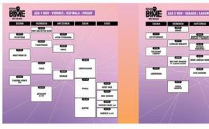 BIME 2019 Bilbao: horarios de conciertos del viernes y sábado