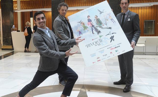 Javier Fernández trae a Bilbao su gran espectáculo 'Revolution on ice'