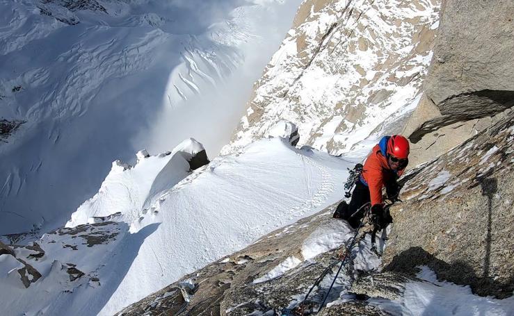 Marc Toralles, un escalador y alpinista de primer nivel