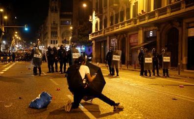 La tensión vuelve a Cataluña tras la condena a los líderes del 'procés'