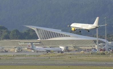 Otros dos vuelos cancelados en la ruta Loiu-Barcelona