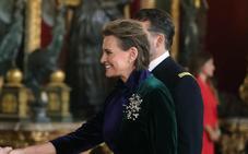 Ainhoa Arteta confió en una conocida firma bilbaína para actuar en el desfile de las Fuerzas Armadas