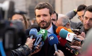 Casado exige activar «de inmediato» la Ley de Seguridad Nacional en Cataluña
