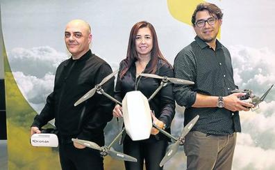 Dronak aplica la robótica a los drones que la propia 'startup' fabrica en Bilbao
