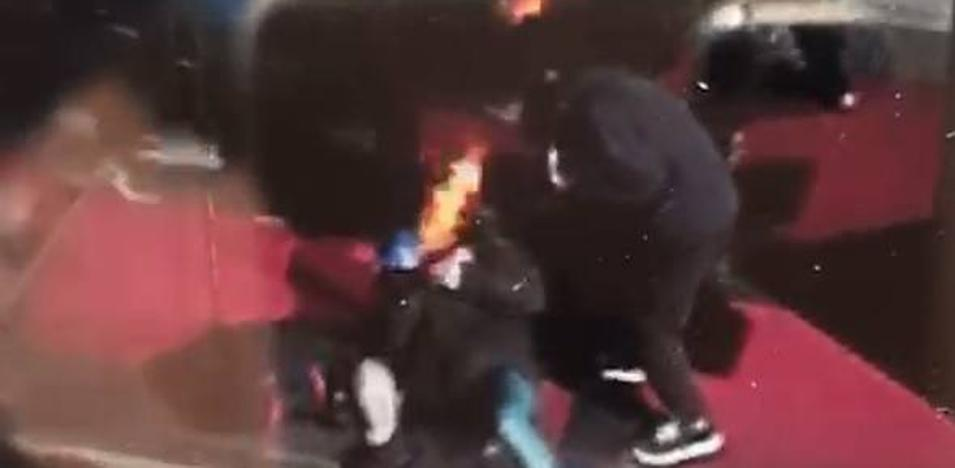 Los dos mendigos atacados en Vitoria sufren graves quemaduras internas