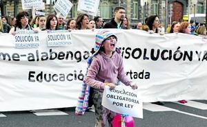 La huelga de un mes en la concertada tendrá un impacto «bárbaro» en el aprendizaje