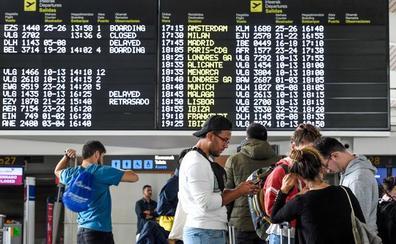 El tráfico de pasajeros en Loiu crece más del 11% en septiembre