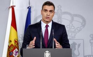 Sánchez exige a Torra que condene «sin excusas» el uso de la violencia