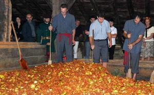 Días de sidras y manzanas en Gipuzkoa