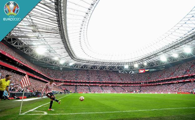 España podría jugar hasta tres partidos de la Eurocopa en San Mamés