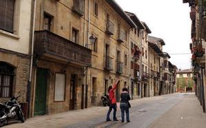 Una plaga de termitas afecta a 28 edificios del casco histórico de Elorrio