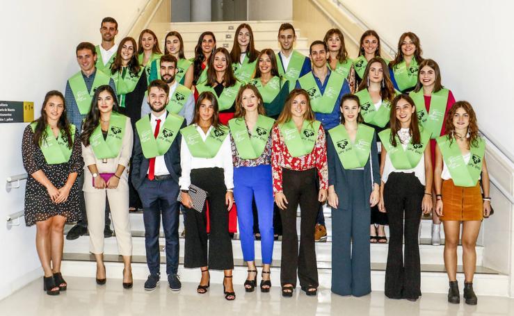 Ceremonia de graduación de la Facultad de Farmacia de la UPV/EHU