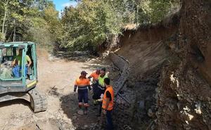 URA restaura la ribera del río Vadillo, en Kuartango
