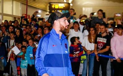 El Barça ya está en Vitoria y entrenará este viernes en Ibaia para preparar el partido de Eibar