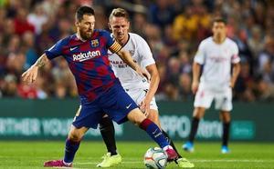 El Barça llega hoy a Vitoria y entrenará mañana en Ibaia para preparar el partido ante el Eibar
